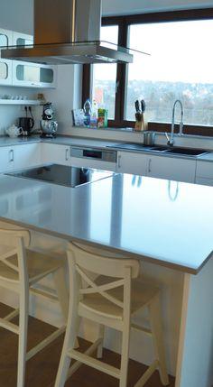 grey kitchen top