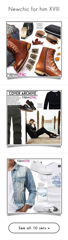 """Newchic for him XVIII"" by ewa-naukowicz-wojcik ❤ liked on Polyvore featuring men's fashion, menswear and ChArmkpR"