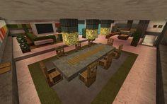 Modern Hillside Minecraft House
