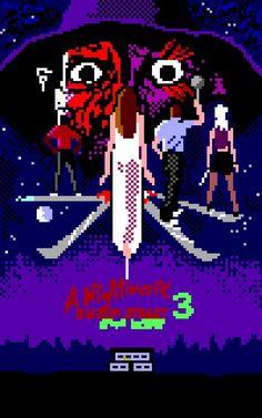 Nightmare On Elm Street, Freddy Krueger, Movies, Movie Posters, Art, Art Background, Film Poster, Films, Popcorn Posters