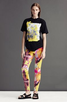 Vibrant pants | Christopher Kane Resort 2013 - Runway Photos - Collections - Vogue