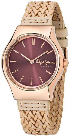 Pepe Jeans London Joey Lady rannekello R2351113501 - Kultatähti.fi verkkokaupasta Pepe Jeans, Gold Watch, Rolex Watches, London, Lady, Accessories, London England, Jewelry Accessories