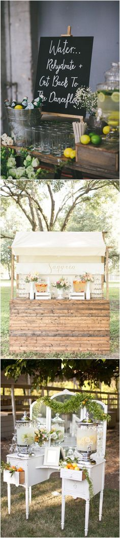 New wedding ceremony standing drink stations ideas New wedding ceremony standing drink stations ideas. ceremony standing New wedding ceremony standing drink stations ideas Beach Wedding Reception, Rustic Wedding, Wedding Ideas, Ski Wedding, Wedding Backyard, Wedding Country, Wedding Candy, Wedding Vintage, Wedding Goals