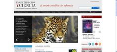 Página web y portal de noticias de la revista científica Investigación y Ciencia. Portal, Scientific Journal, Environmental Science, Journals, News