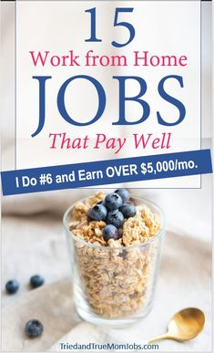 If you're looking for real work from home jobs you have to check out this list. These are work at home jobs that people are actually doing that pay well. Earn Money From Home, Earn Money Online, Online Jobs, Way To Make Money, Money Fast, Work From Home Opportunities, Work From Home Jobs, Money Saving Mom, Legitimate Work From Home