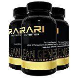 RARI NUTRITION - Lean Genes - #1 BEST Fat Burner for Men and Women, 30 servings, Premium Quality Pills, Healthy Formula, Mood Enhancement and Focus, Fat Loss Regulator - http://www.painlessdiet.com/rari-nutrition-lean-genes-1-best-fat-burner-for-men-and-women-30-servings-premium-quality-pills-healthy-formula-mood-enhancement-and-focus-fat-loss-regulator/
