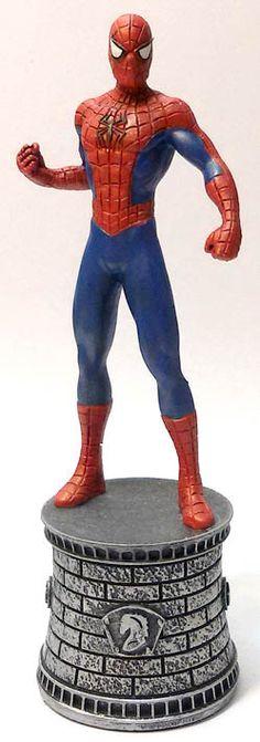 Scacchi Marvel da collezione (2016) #Marvel #SpiderMan #Scacchi