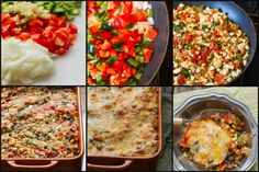 Healthy mexican quinoa casserole. It makes enough to serve 8 or just have dinner for your entire family a second night! OR divide it in two and freeze one! So good, no one will ever guess how healthy it is.