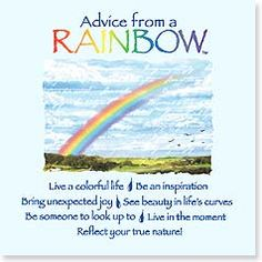 Magnet - Advice from a Rainbow | Your True Nature® | 26434 | Leanin' Tree