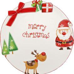 Platou de ceramica Merry Christmas