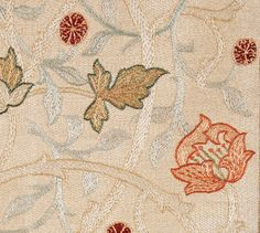 19th century silk embroidery http://www.embroiderersguild.com