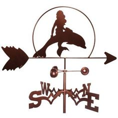 Swen Products hand crafts all their weathervanes with ball bearing windcups and coat them with a powder coat paint at a very affordable price. Ya sure, that SWEN put his name on all weathervanes! EZ to assembly vane