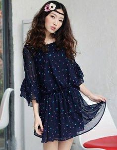 Blue Dots Top For Just $50 Shop Now! For Order Inbox Us At https://www.facebook.com/Glamourforgirls or Mail Us At glamourous_girls@hotmail.com