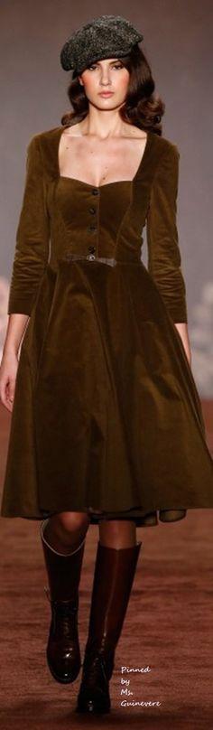 Lena Hoschek, Berlin Fashion Week Fall Winter 2016 2017 RTW