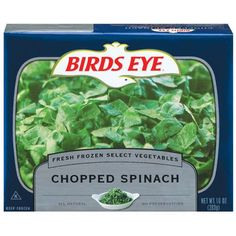 Birds Eye Coupon: Chopped Spinach, Only $0.50 at Dollar Tree!