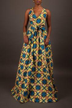 NEU das Diana-Maxi-Kleid benutzerdefinierte Länge: von DEMESTIK