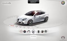 Alfa Giulietta - Interactive Kiosk on Behance