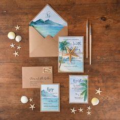一式見せます♡参考にしたい、海外ウエディングのハイセンスな招待状デザイン8選*にて紹介している画像