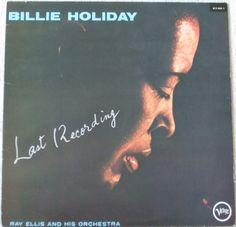 LAST   RECORDING Billie Holiday with Ray Ellis Jazz Vinyl LP