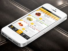 This is a food delivery app design which Folium might use. Restaurant Delivery, Delivery App, App Design, A Food, Apps, Mobile Ui, Marketing, App, Application Design