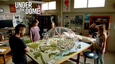 Under the Dome painting | Under the Dome - What The Dome Wants