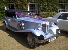 Vintage Beauford Wedding Car in Deal, Kent