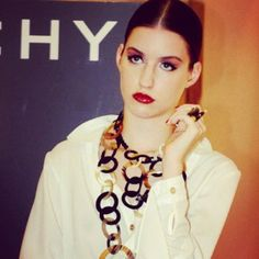 Horn and necklace ring. Mariana Lopez Osornio. jewelry designer. www.mlo.com.ar