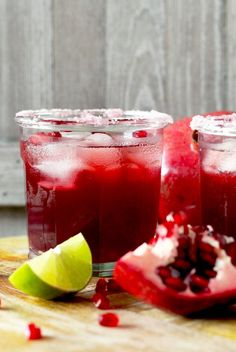 ... This Pomegranate Margarita is the best and prettiest margarita ever