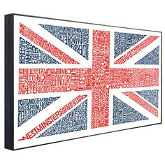 union jack in cities