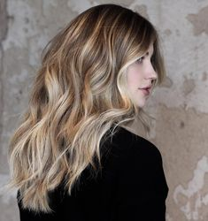"""brunette blonde balayage 1,150 Likes, 31 Comments - Charlie Price (@hairbycharlie) on Instagram: """"Zero maintenance Blonde ...@kirstenrinck flys to Dallas every 6 months to refresh her color. (…"""""""