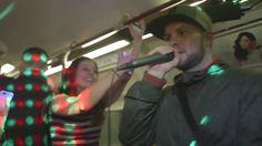 Underground Drum & Bass Rave on London Train [COPS CALLED]