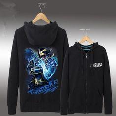 League of Legends moletom com capuz para homens desgaste League Of Legends, Grey Sweatshirt, Graphic Sweatshirt, Twisted Fate, Hoodies, Sweatshirts, Brazil, Sweaters, Black