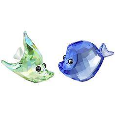Swarovski Sealife Shelley & Sam Green/Blue - $120