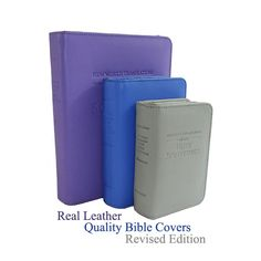 2013 Edition New World Translation Bible Cover. Quality leather Bible cover with front slip-in pocket.