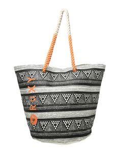 #ROXY #Strandtasche #Sun #Seeker - Mit dem voluminösen Strandbegleiter aus der Kollektion von Roxy machst Du nicht nur am Beach eine umwerfende Figur. Die Strandtasche ´Sun Seeker´ nimmt all Deine Dinge des täglichen Bedarfs dankbar in sich auf und begeistert zudem mit coolem Look.