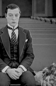 Buster Keaton as Jimmie Shannon in Seven Chances 1925
