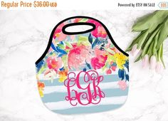 ON SALE NOW - 20% off Monogrammed Lunchbox, Monogrammed Lunch Bags Insulated Neoprene, Monogrammed Lunch Bag, Personalized Lunch Tote, Desig by SassySouthernGals on Etsy https://www.etsy.com/listing/244856766/on-sale-now-20-off-monogrammed-lunchbox