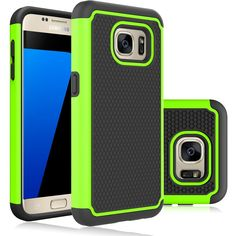 S7 Case / Galaxy S7 Case,DIOS CASE(TM) Raised Honeycomb Anti Slip Design Full-Body Protection Dual Layer Hybrid Rubber Grip Bumper Armor Case Cover for Samsung Galaxy S7 (Green) >>> This is an Amazon Affiliate link. Be sure to check out this awesome product.