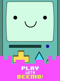 Beemo - Adventure Time App. Kids Games Apps Cartoon Network.