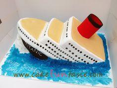 Titanic Cake cakepins.com