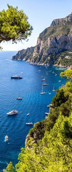 Capri Island, Italy on http://www.exquisitecoasts.com/
