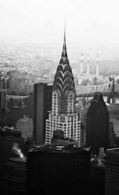 Chrysler Building by Dennis Herzog