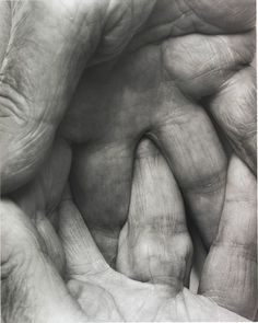 sicksin:    Interlocking Fingers Nº6, 1999 by John Coplans    #hands