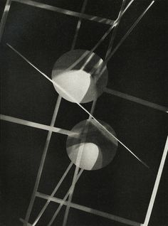 Untitled, photogram by László Moholy-Nagy, c.1928