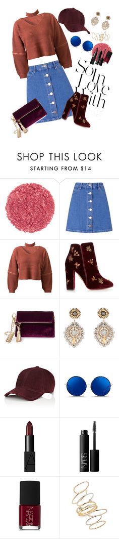 """""""How to wear a mini skirt"""" by oladda ❤ liked on Polyvore featuring Miss Selfridge, WithChic, Aquazzura, Steve Madden, Miguel Ases, rag & bone, Matthew Williamson, NARS Cosmetics, BP. and Boots"""