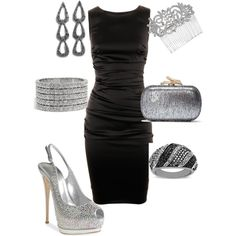 Designer Clothes, Shoes & Bags for Women Special Occasion Outfits, Outfit Combinations, Play Dress, Polyvore Outfits, Lbd, Playing Dress Up, Activewear, Sparkle, Women's Fashion