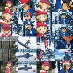 Pokemon X And Y, Pokemon Ash And Serena, Pokemon Ships, Pokemon Fan, Pokemon Rayquaza, Cool Pokemon Wallpapers, Ashes Love, Pokemon Movies, Micro Lego