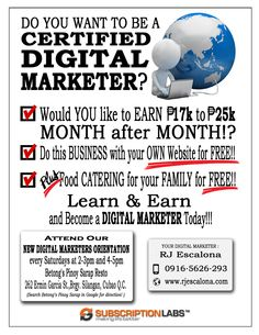 All sizes | Flyer with Boarder 8x11 | Flickr - Photo Sharing! Learn Earn, Own Website, Your Family, Digital Marketing, How To Become, Learning, Flyers, Business, Ruffles