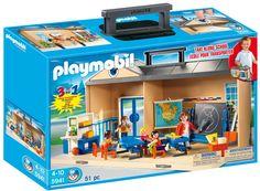 Amazon.com: PLAYMOBIL Take Along School Playset: Toys & Games
