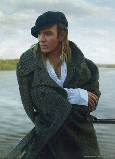 Galliano in the Wilderness, John Galliano by Annie Leibovitz / Vanity Fair July 2013